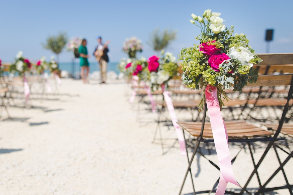 Let's hope your spouse's credit rating is just as hot as a beach wedding in South Florida.