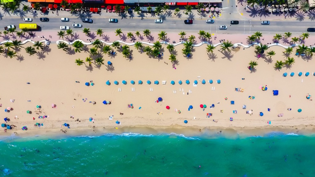 Plenty of room on Fort Lauderdale's beaches...not as much room in its real estate market!