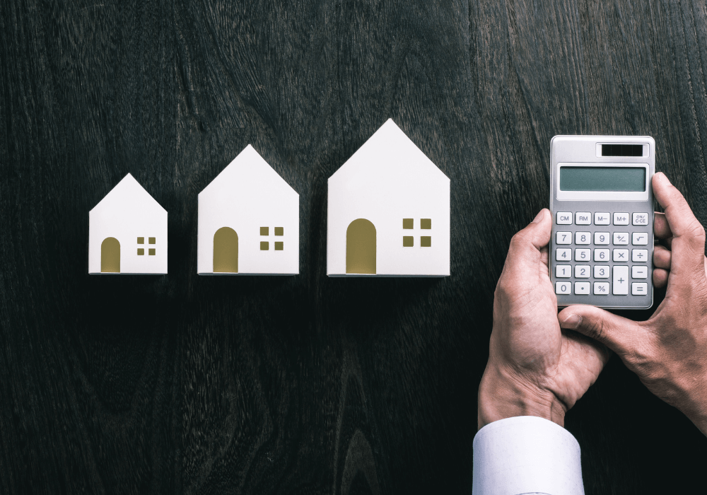 Illustration of houses increasing cost | Reach Home Loans